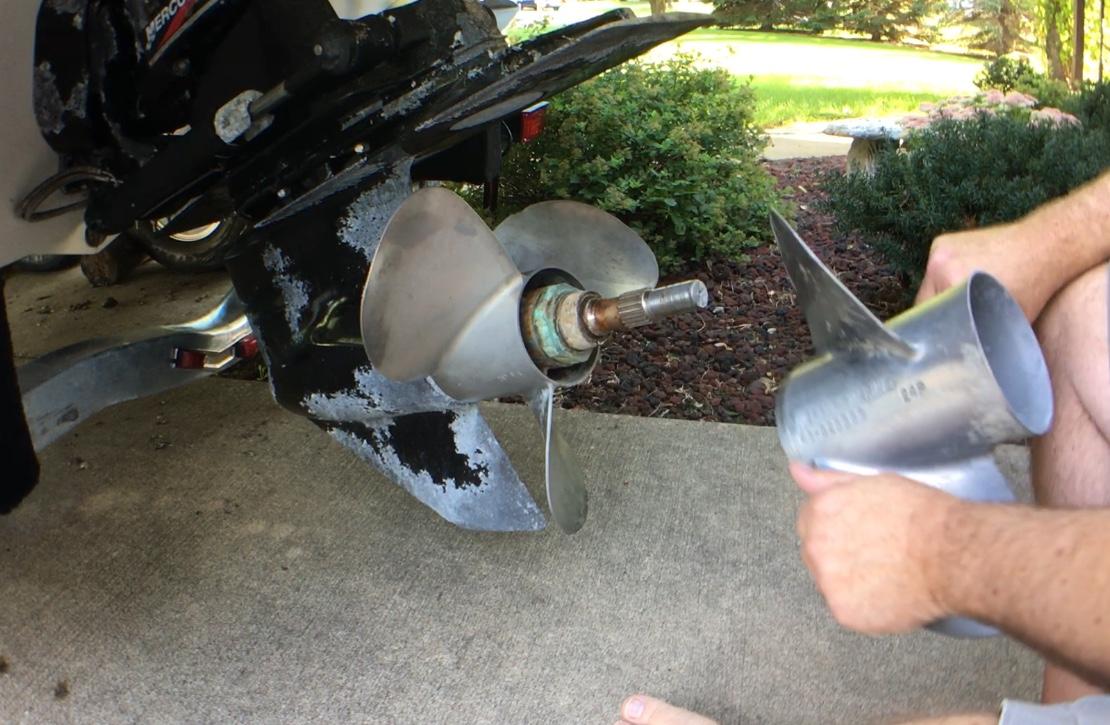 DIY Bravo III stainless propeller polishing | Club Sea Ray