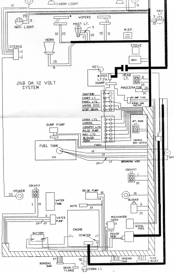 Sea Ray Boat Wiring Diagram from www.clubsearay.com