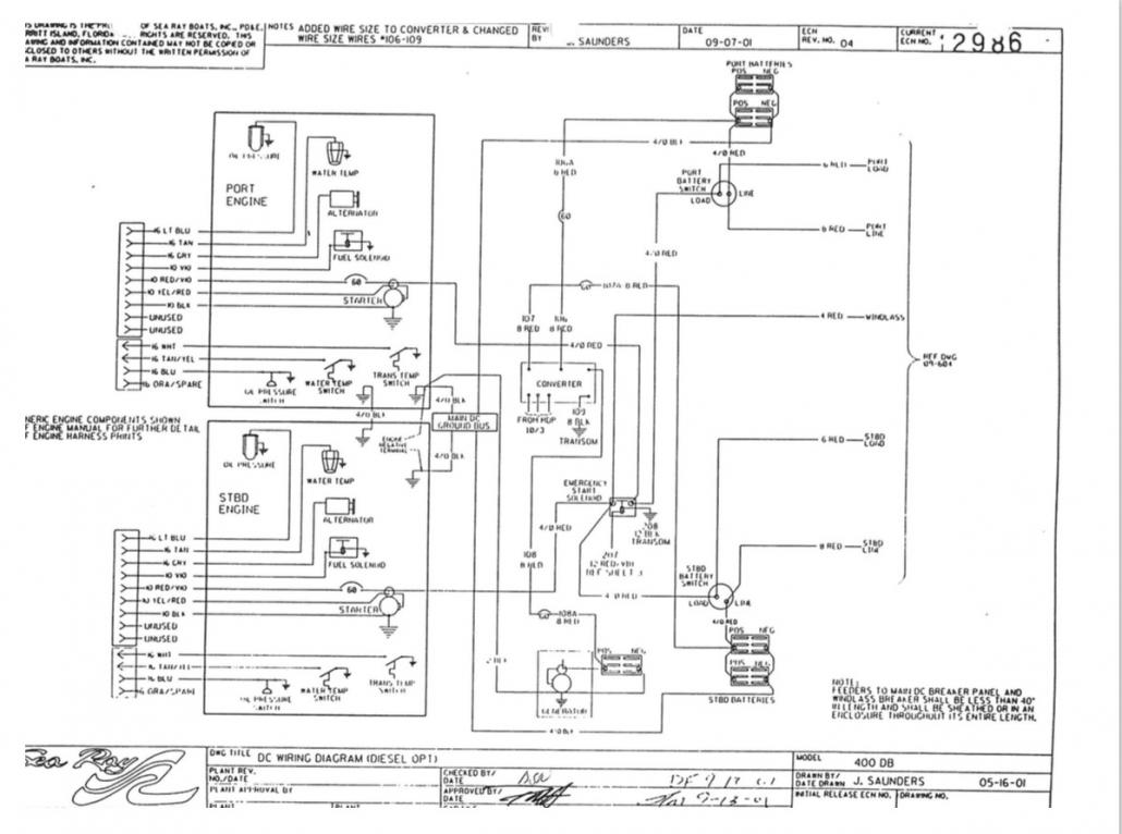 Cruisers Yachts Wiring Diagram Schematic Diagrams 2002 Sea Ray 400 Trusted Boat For Dummies
