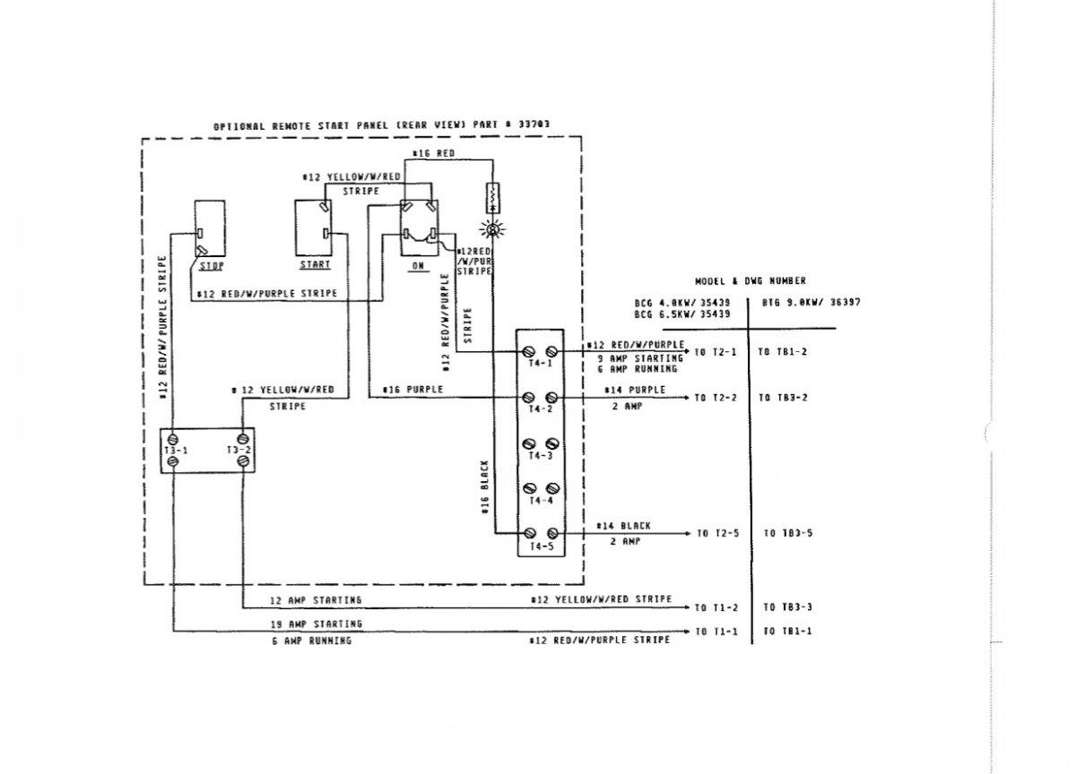 [SCHEMATICS_43NM]  Westerbeke Generator wiring to remote start | Club Sea Ray | Westerbeke Wiring Diagrams |  | Club Sea Ray