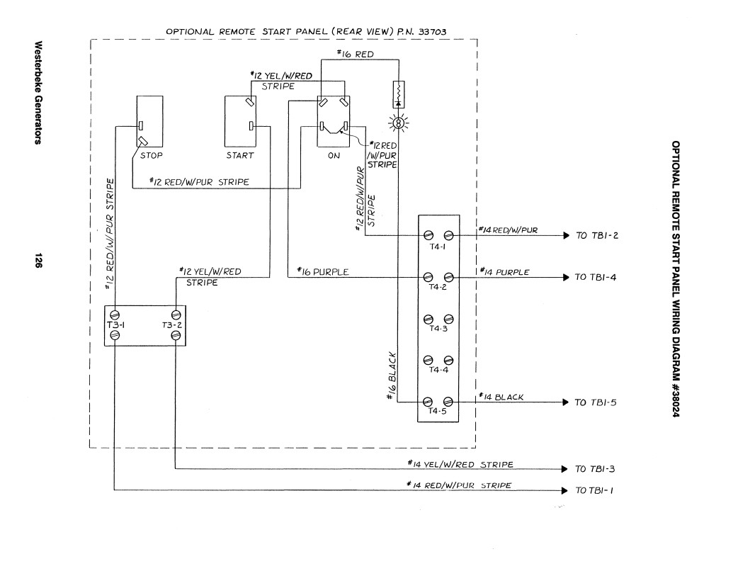 Westerbeke Remote Panel Wiring Diagram Schematics Dorman Generator To Start Club Sea Ray