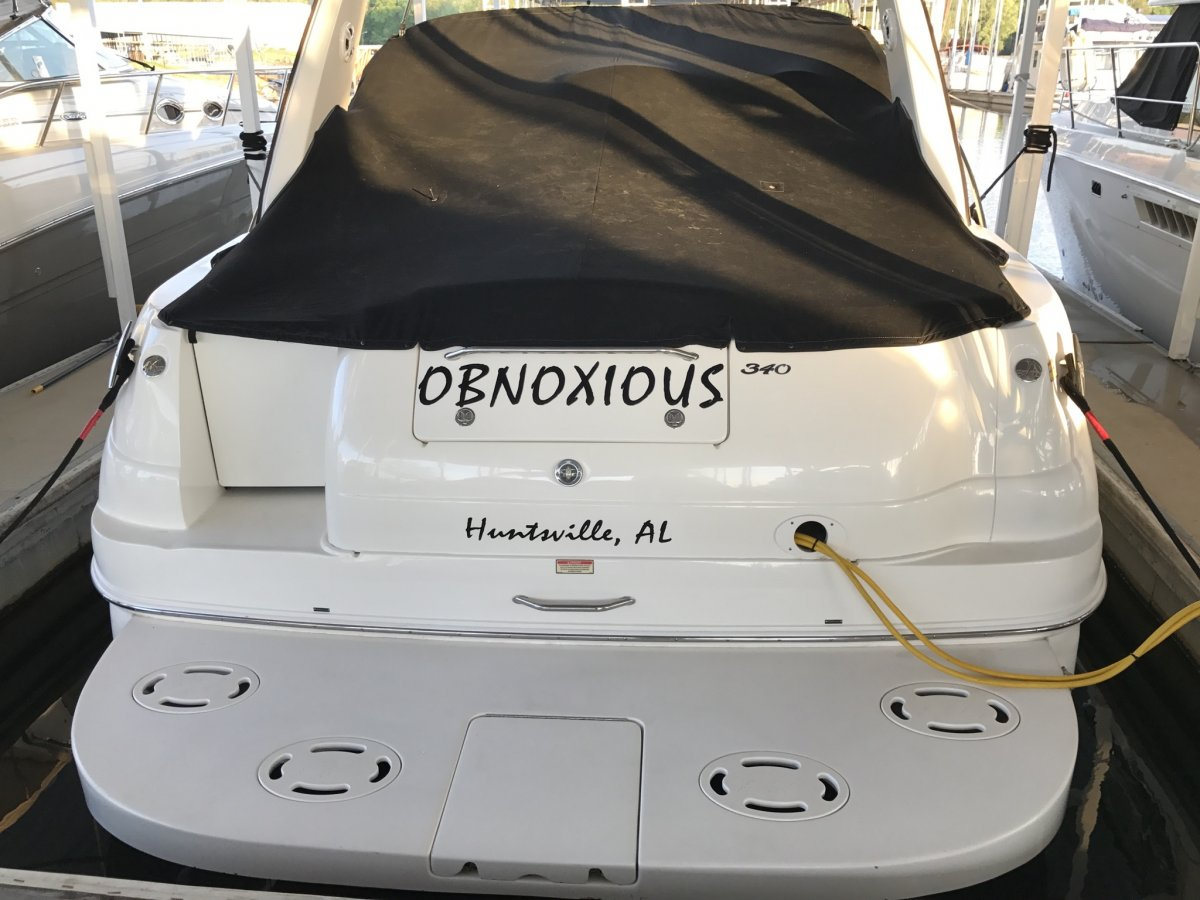 Cost of Boat Name Vinyl? | Club Sea Ray