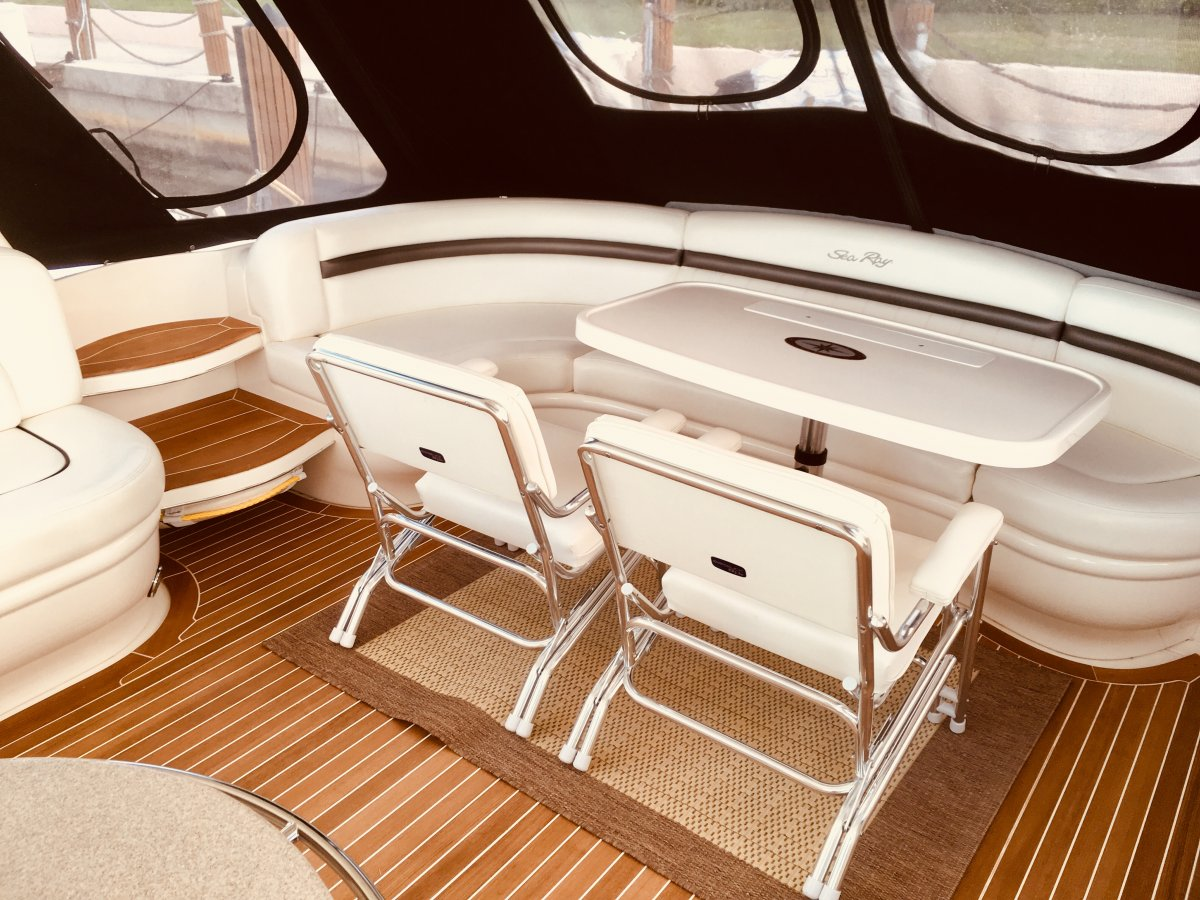 New Teak Cockpit Floor Club Sea Ray