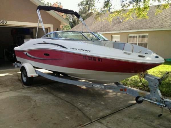 Wanted>2008 SeaRay 185 sport graphics decal kit | Club Sea Ray