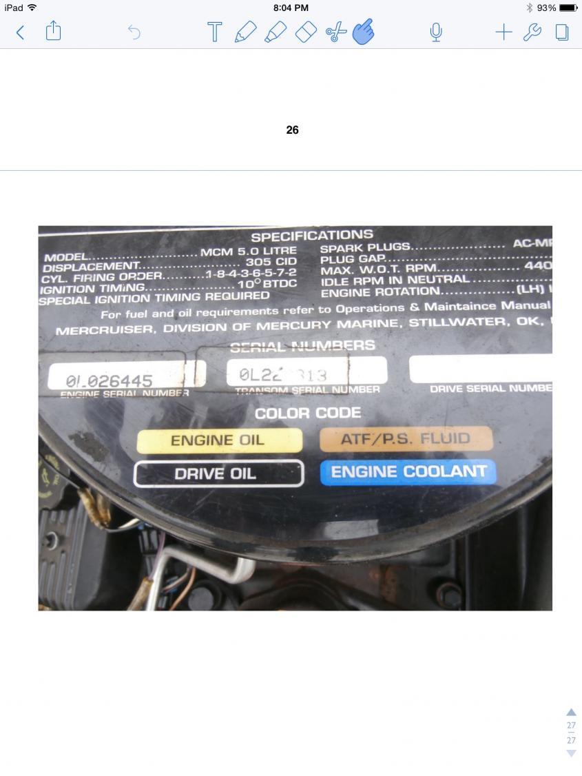 Engine oil | Club Sea Ray