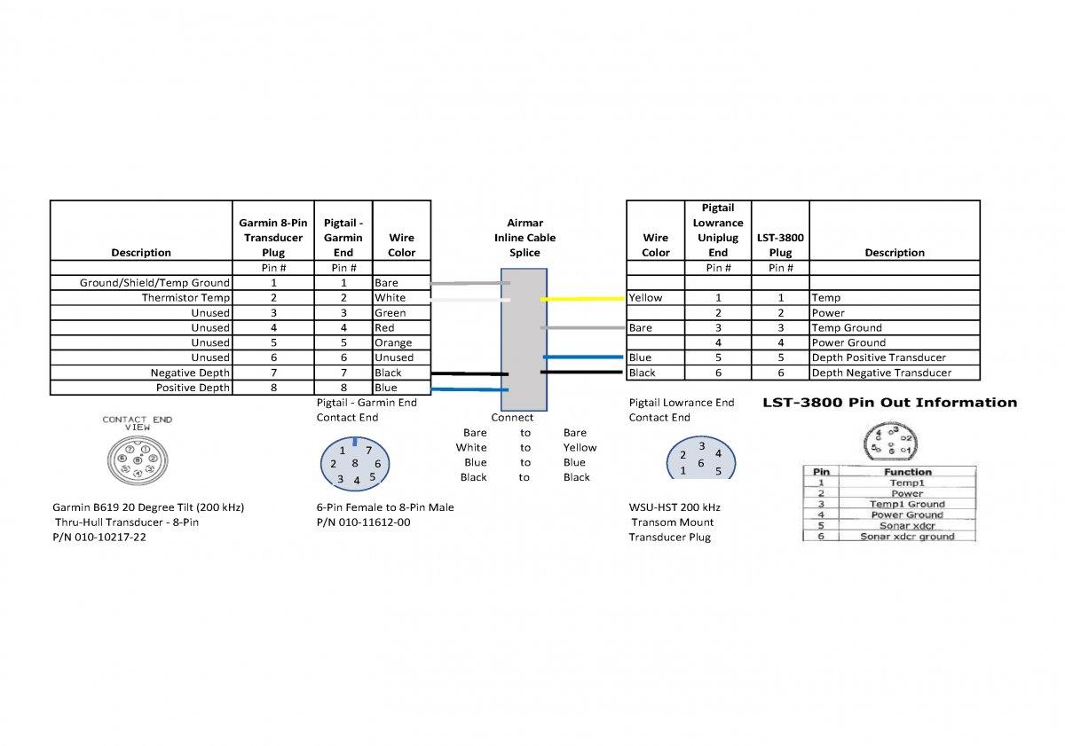 lowrance transducer wiring diagram