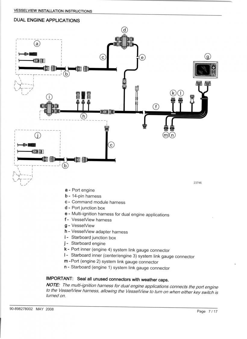 DIY Smartcraft Vessel View Installation / Swap out System View SC5000 |  Club Sea RayClub Sea Ray